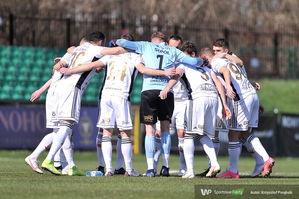 eWinner II liga: Garbarnia Kraków - Chojniczanka Chojnice 2:1 (galeria)