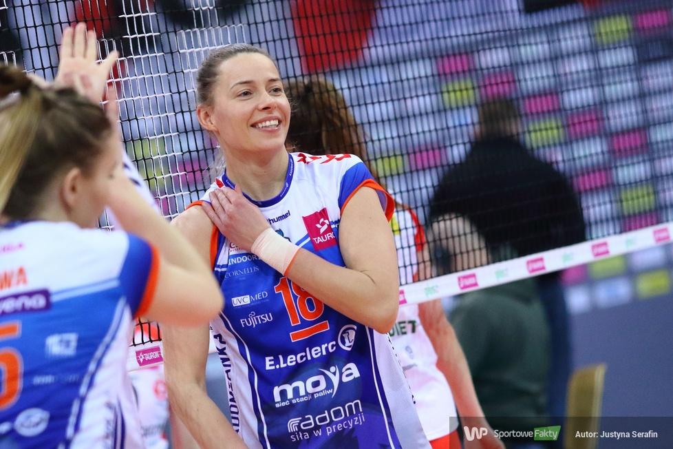 TAURON Liga. 2. mecz o 3. miejsce: ŁKS Commercecon Łódź - E.Leclerc Moya Radomka Radom 2:3 (galeria)