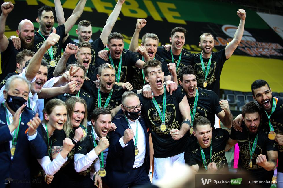 Finał PlusLigi  2020/2021. Ceremonia dekoracji medalistów [GALERIA]