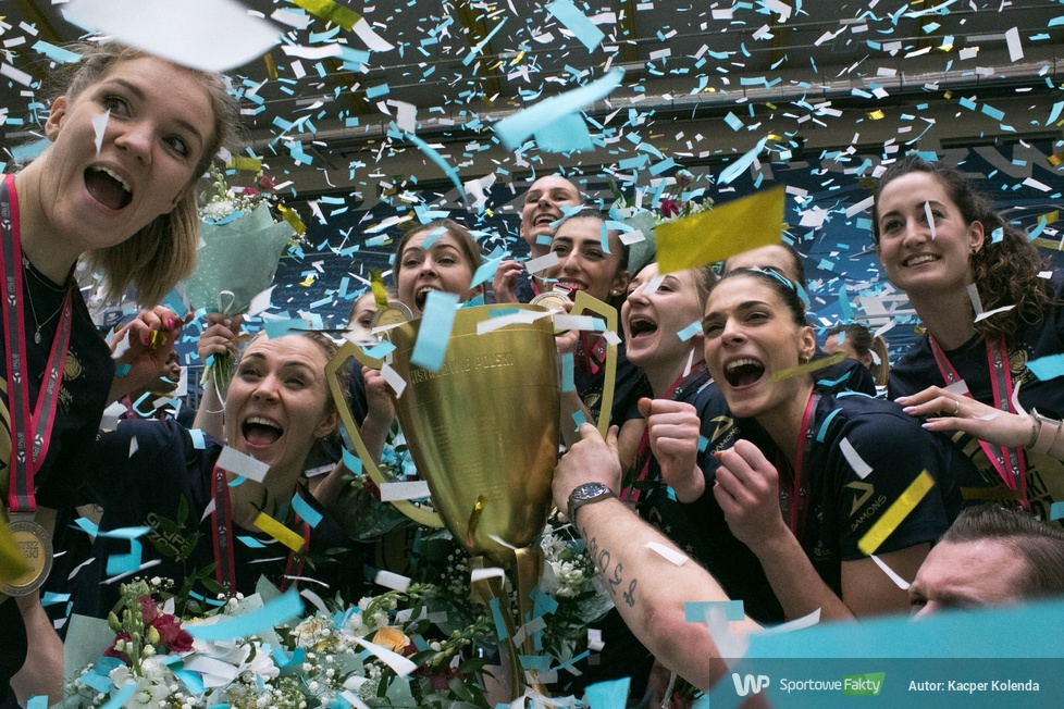 TAURON Liga: dekoracja mistrzyń i wicemistrzyń Polski sezonu 2020/2021 (galeria)