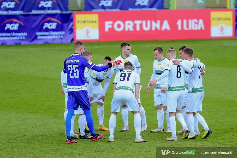 Fortuna I liga: GKS Bełchatów - Sandecja Nowy Sącz 0:2 (galeria)
