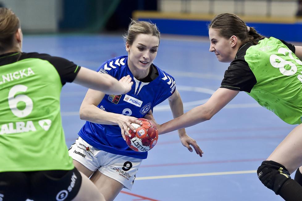 PGNiG Superliga Kobiet. KPR Ruch Chorzów - KPR Gminy Kobierzyce 29:40 [GALERIA]