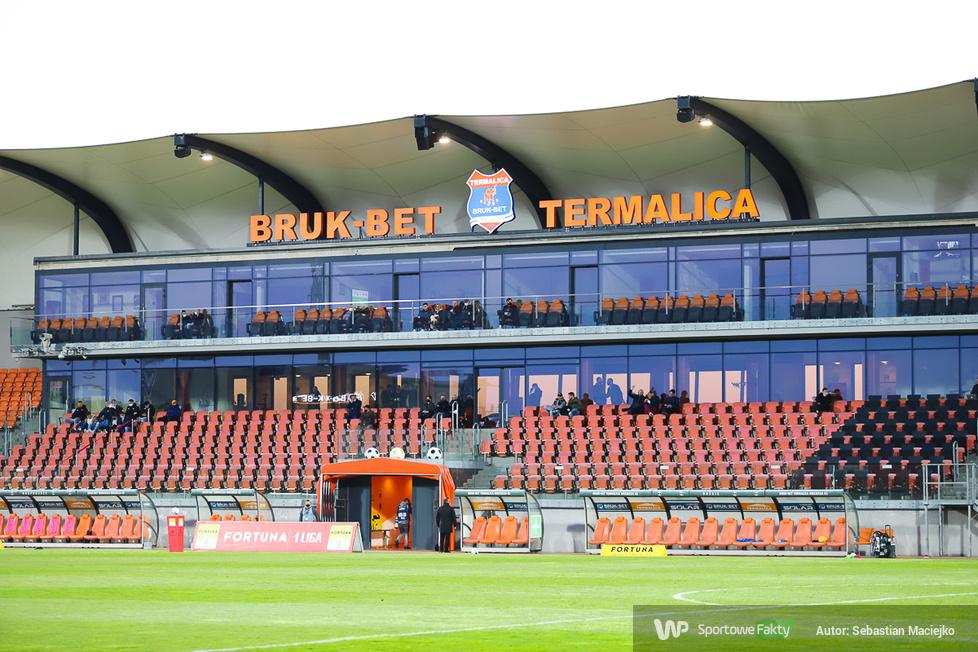 Fortuna I Liga. Bruk-Bet Termalica Nieciecza - Puszcza Niepołomice 4:0