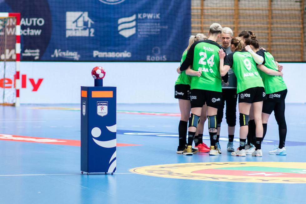 PGNiG Superliga Kobiet. KPR Gminy Kobierzyce - MKS Zagłębie Lubin 23:23 k. 3:1 (galeria)