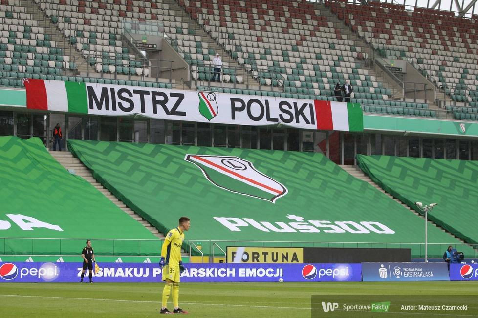 PKO Ekstraklasa. Legia Warszawa - Wisła Kraków 0:0 (galeria)