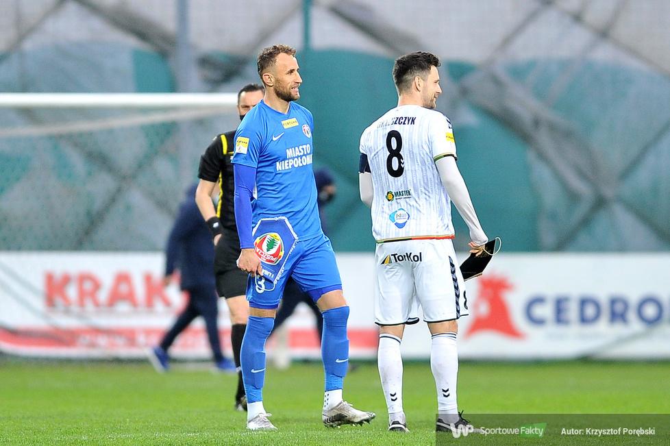 Fortuna I liga: Puszcza Niepołomice - GKS Tychy 0:1 (galeria)