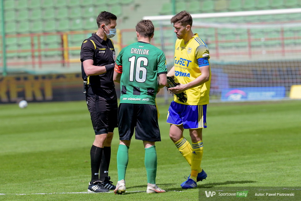 Fortuna 1 liga: GKS Bełchatów - Arka Gdynia 0:3 (galeria)