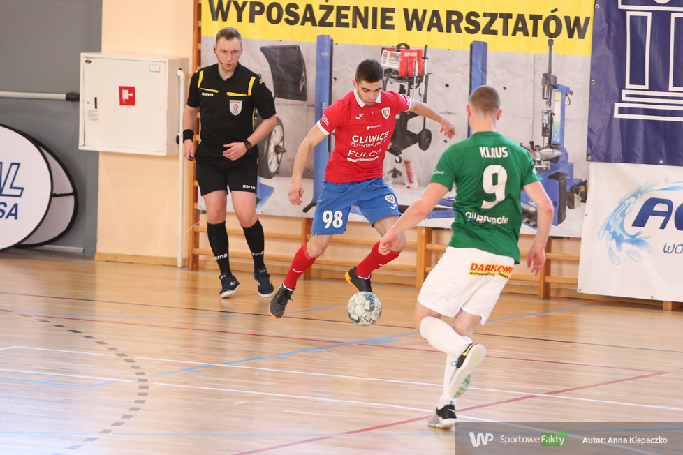 Futsal: AZS UW DARKOMP Wilanów - Piast Gliwice 5:5 (galeria)