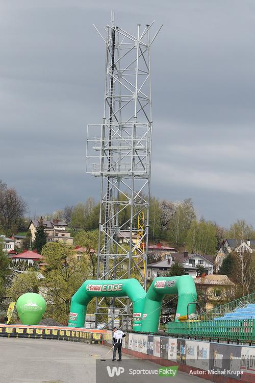 Rozbudowa stadionu w Krośnie [GALERIA]
