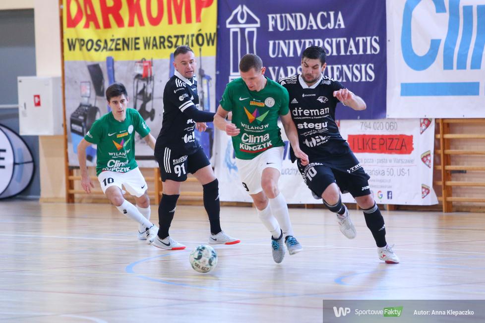 Futsal: AZS UW DARKOMP Wilanów - Dreman Opole Komprachcice 5:2 (galeria)