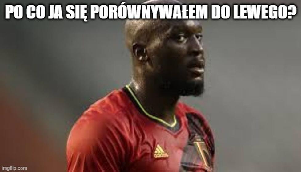 Lukaku na celowniku szyderców. Memy po meczu Belgia - Włochy