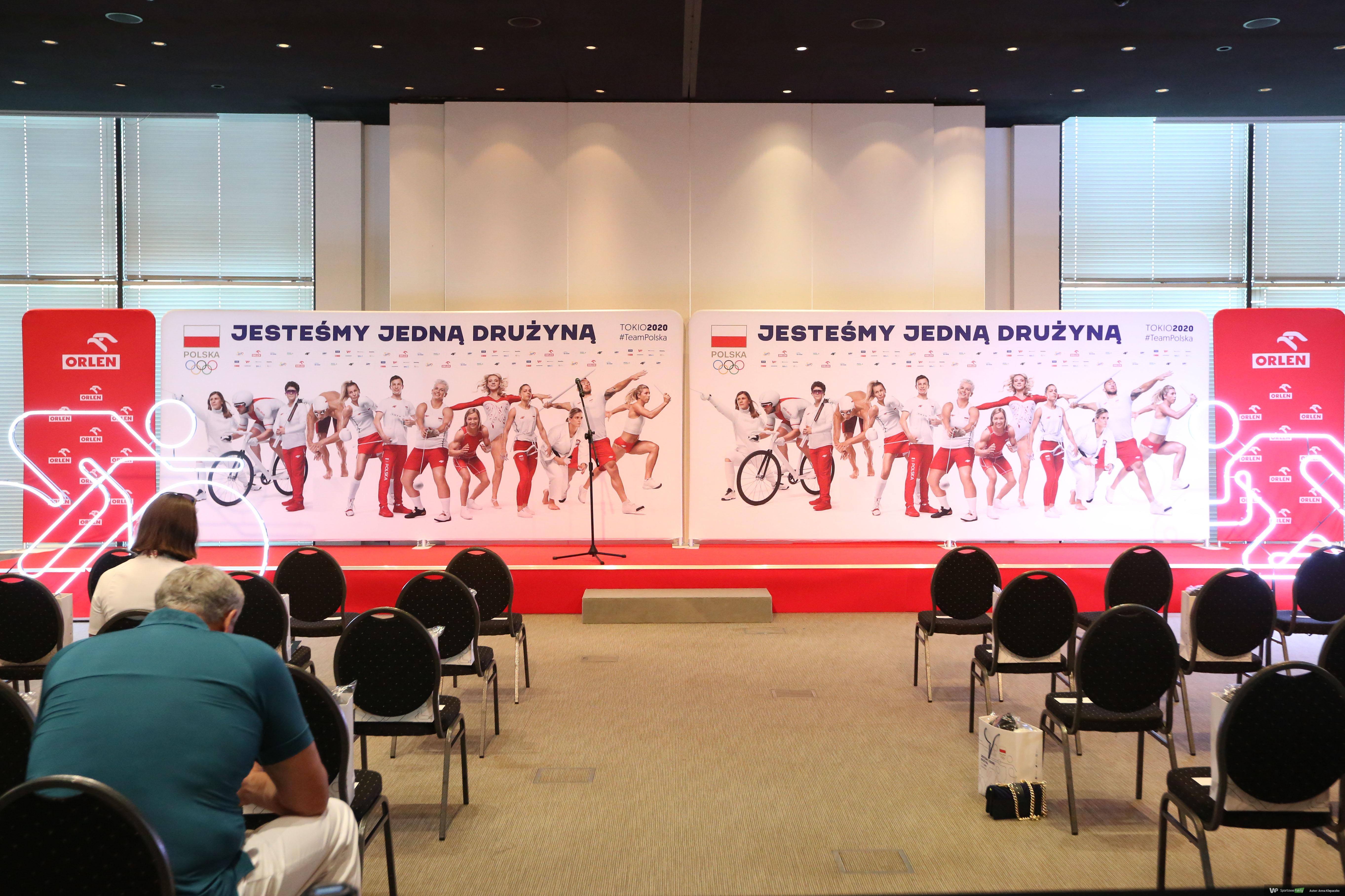 Ślubowanie olimpijskie Tokio 2020 - 7 lipca 2021 (galeria)