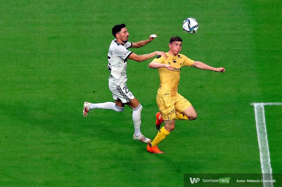 el. LM: Legia Warszawa - FK Bodo/Glimt 2:0 (galeria)