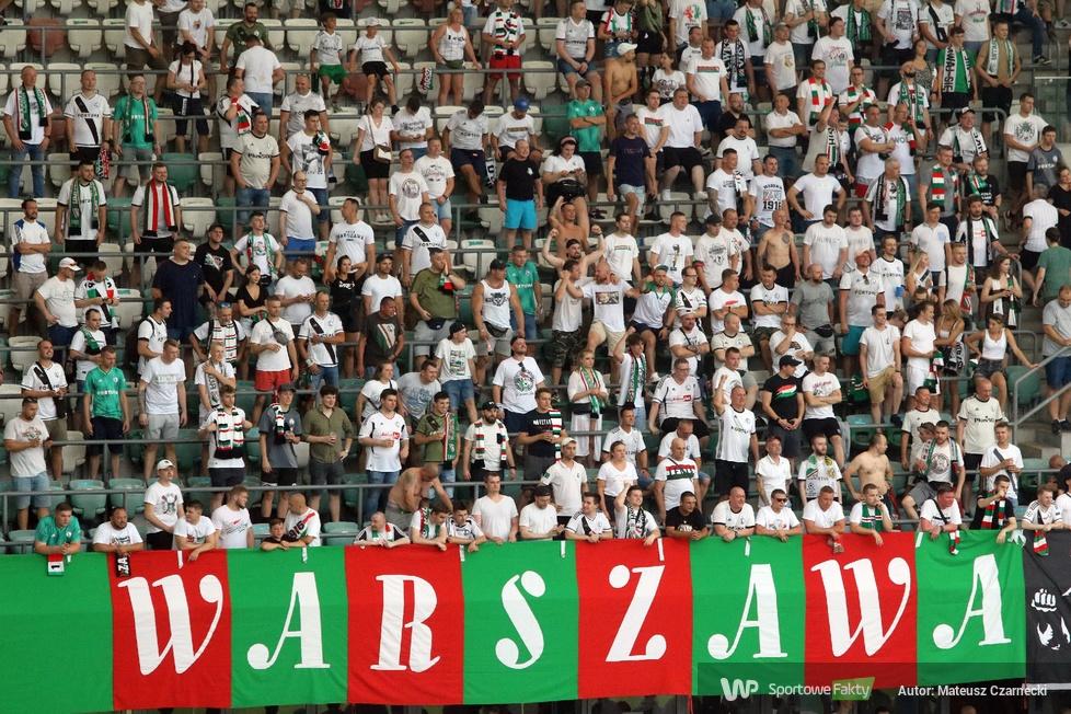 Kibice podczas meczu Legia Warszawa - FK Bodo/Glimt (galeria)