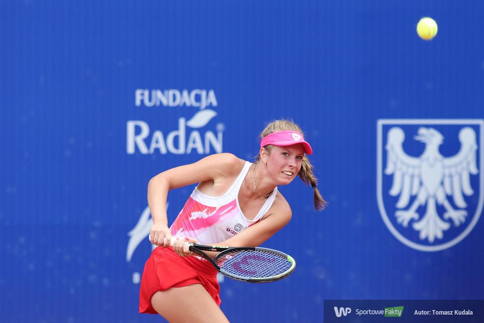 95. Narodowe Mistrzostwa Polski w tenisie. Magdalena Fręch - Katarzyna Kawa 2:0 (galeria)