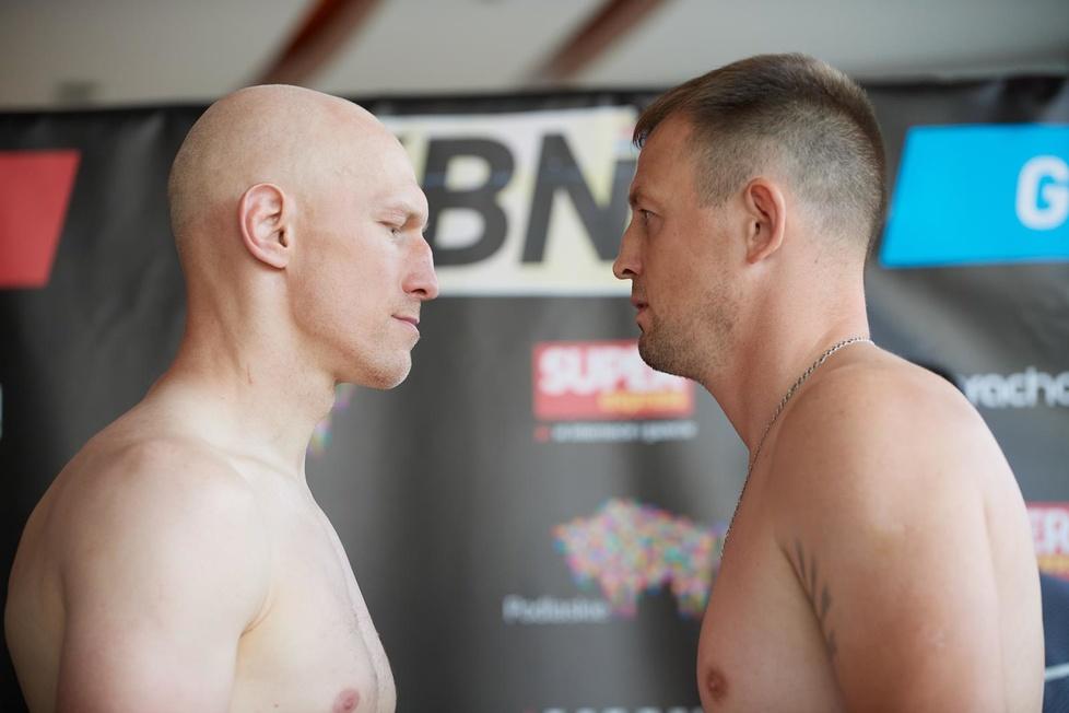 Ceremonia ważenia przed Knockout Boxing Night 16 (galeria)
