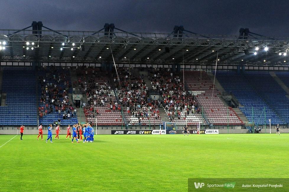 Kibice podczas meczu Wisła Kraków - Podbeskidzie Bielsko-Biała [GALERIA]