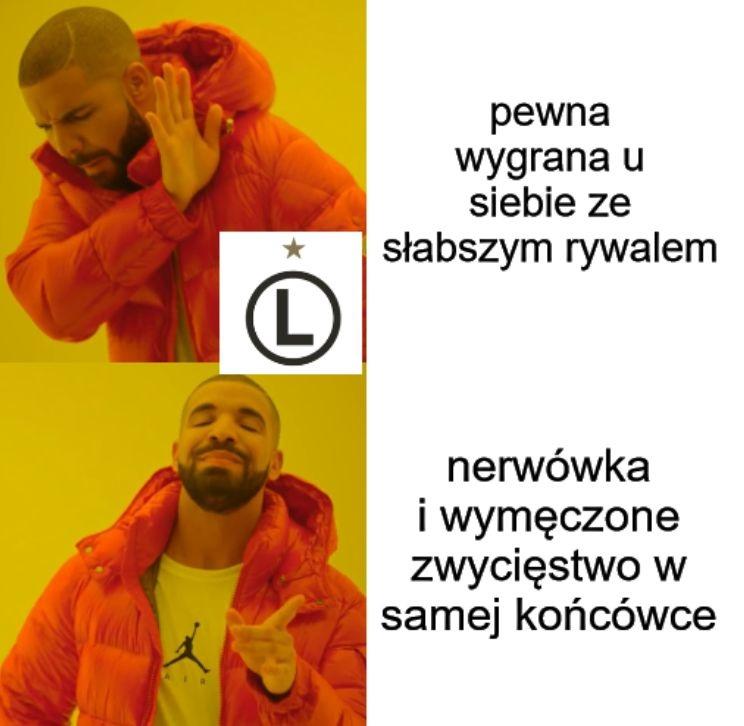 Flora - kolejna Legii zmora? Memy po wymęczonej wygranej mistrza Polski (galeria)