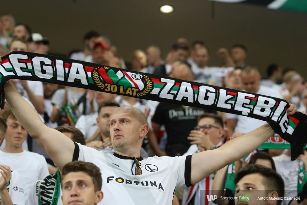 Kibice podczas meczu Legia Warszawa - FC Flora Tallin (galeria)
