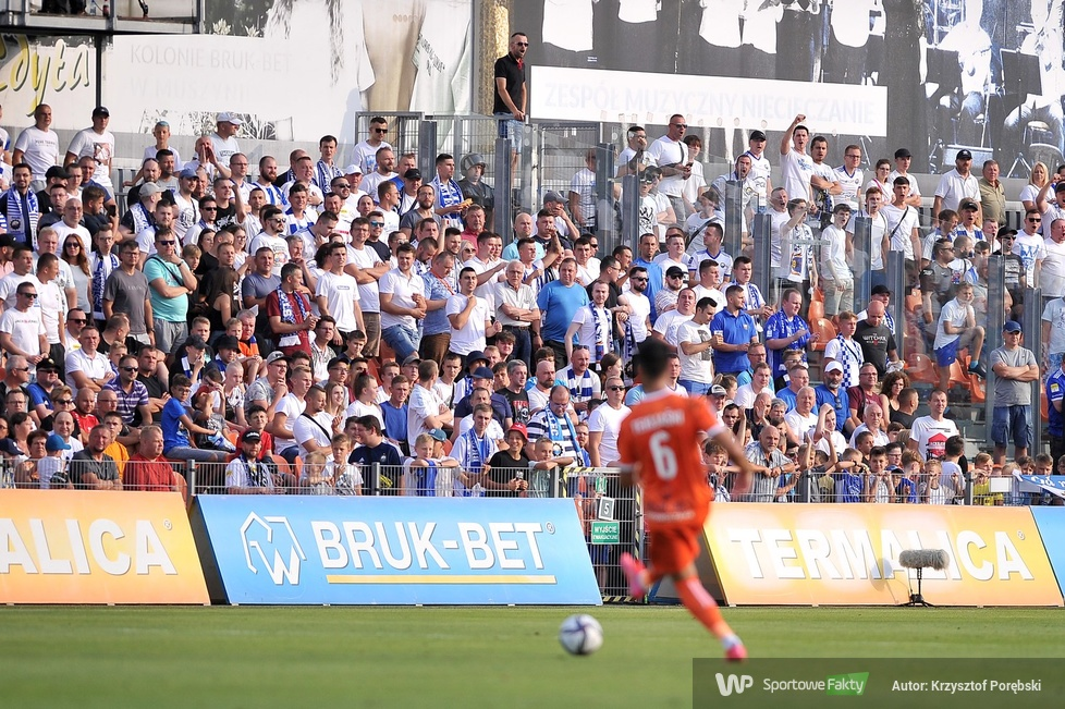 PKO Ekstraklasa: kibice podczas meczu Bruk-Bet Termalica - Stal Mielec (galeria)