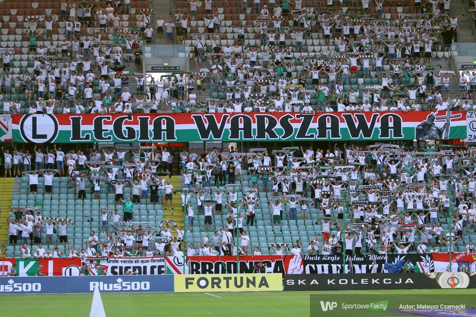 Kibice podczas meczu Legia Warszawa - Wisła Płock (galeria)