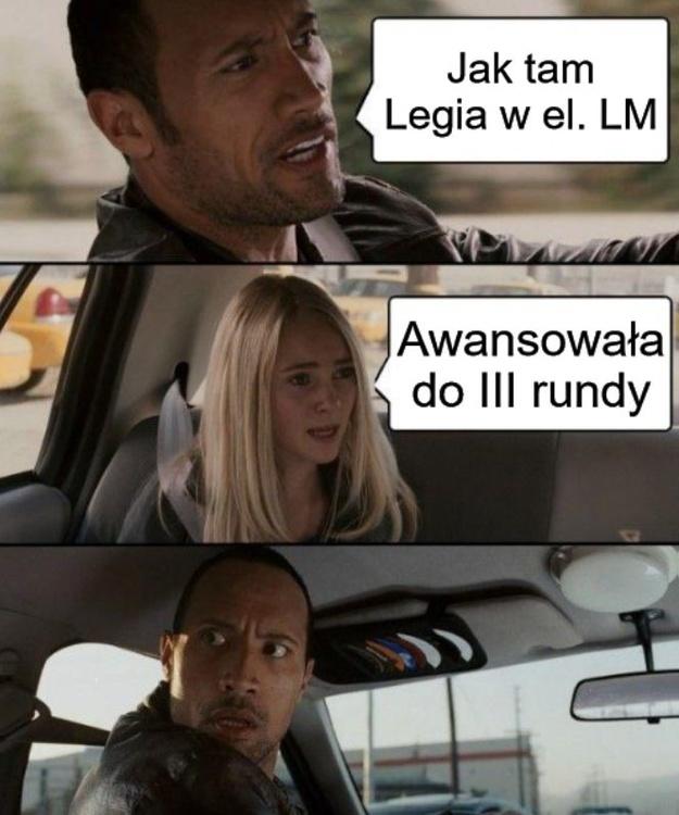 Pierwsze oznaki zmęczenia sezonem? Memy po awansie Legii w el. LM
