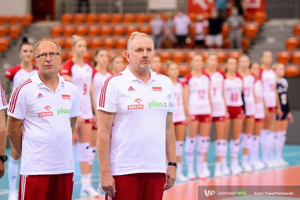 Sparing reprezentacji Polski siatkarek. Polska - Słowacja 3:1 (galeria)