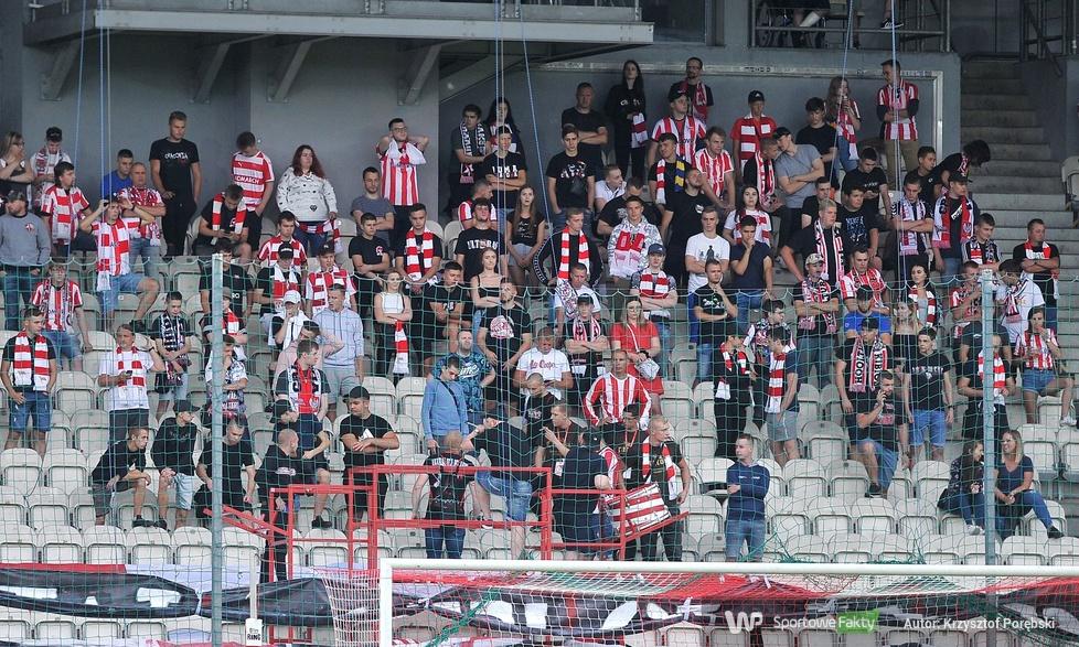 PKO Ekstraklasa: kibice podczas meczu Cracovia - Śląsk Wrocław (galeria)