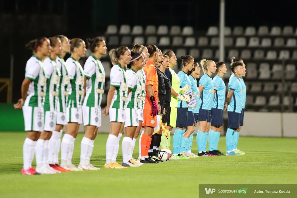 Liga Mistrzyń: Czarni Sosnowiec - Ferencvarosi Torna Club 1:2 (galeria)