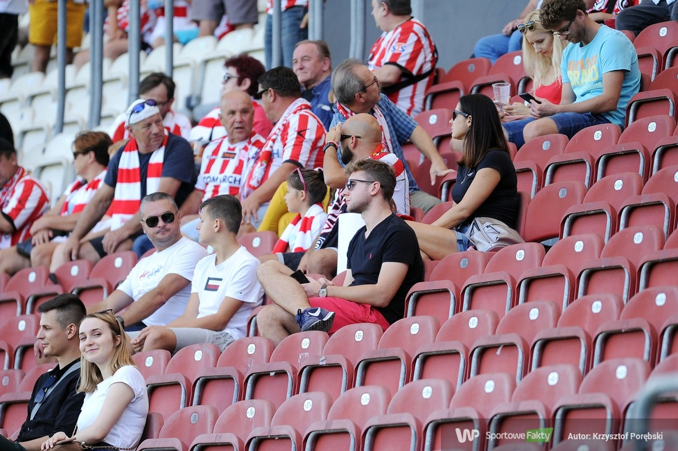 PKO Ekstraklasa: kibice podczas meczu Cracovia - Górnik Zabrze (galeria)