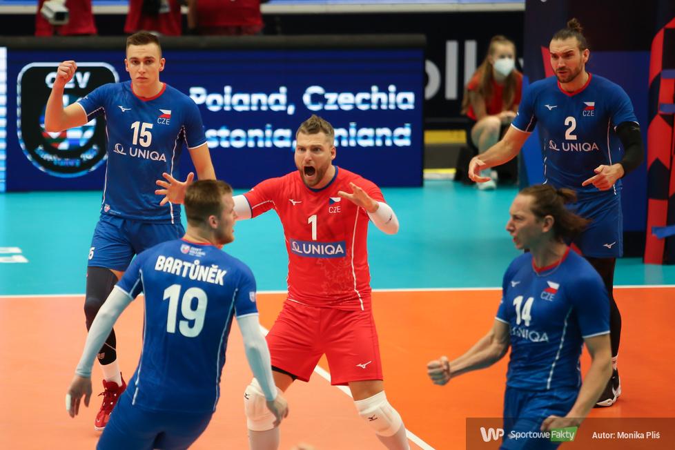 Mistrzostwa Europy siatkarzy: 1/8 finału  Francja - Czechy 0:3 (galeria)