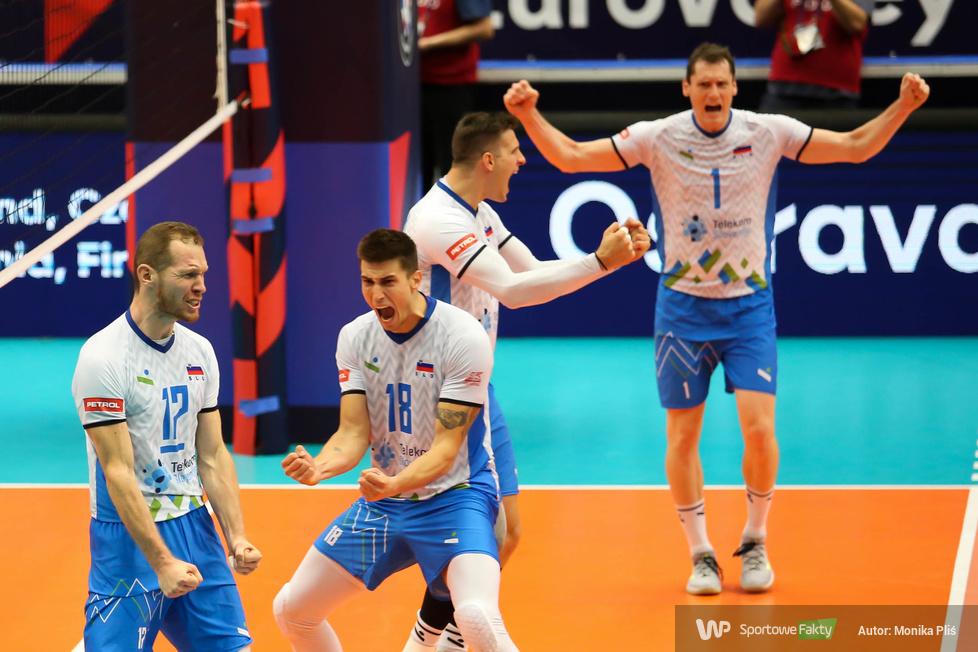 Mistrzostwa Europy siatkarzy, 1/4 finału: Czechy - Słowenia 0:3 (galeria)