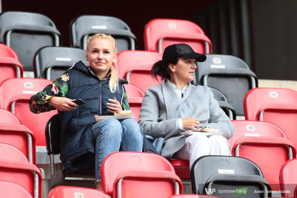 Kibice na meczu GKS Tychy - Widzew Łódź (galeria)