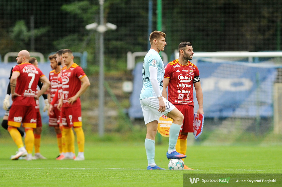 eWinner II liga: Hutnik Kraków - Chojniczanka Chojnice 1:0 [GALERIA]