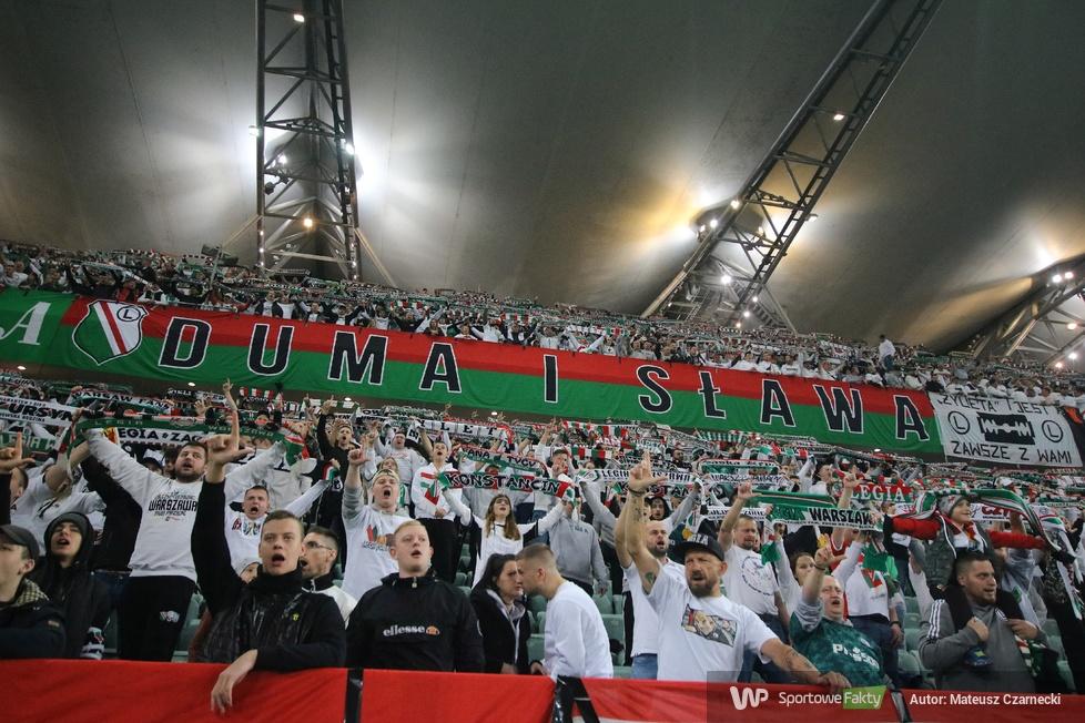 Kibice podczas meczu Legia Warszawa - Raków Częstochowa (galeria)