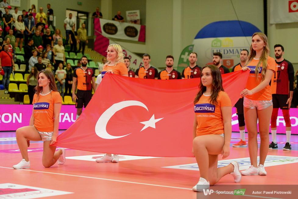 Giganci Siatkówki 2021: PGE Skra Bełchatów - Galatasaray Stambuł 1:3 (galeria)