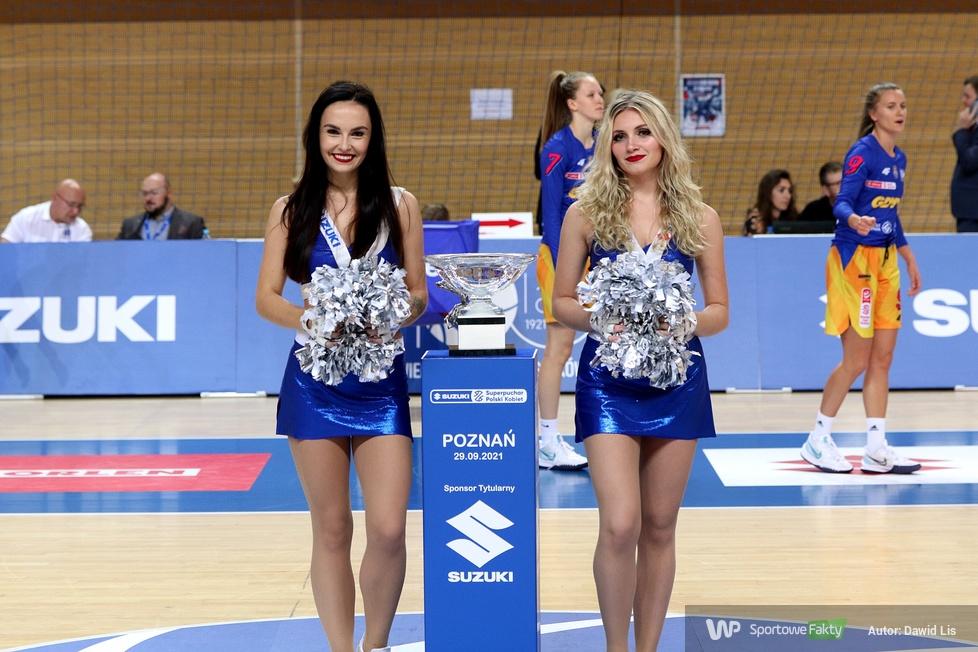 Cheerleaders Wrocław podczas Suzuki Superpucharu Polski Kobiet [GALERIA]