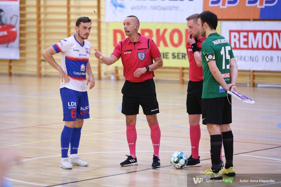 Futsal: AZS UW DARKOMP Wilanów - KS Constract Lubawa 5:5 (galeria)