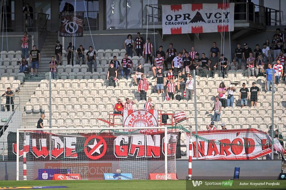 PKO Ekstraklasa: kibice podczas meczu Cracovia - Stal Mielec (galeria)